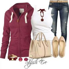 Cute comfy casual outfit