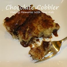 Making Memories ... One Fun Thing After Another: Chocolate Cobbler
