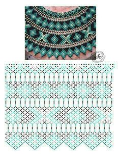 Diy Necklace Patterns, Bead Loom Patterns, Beaded Jewelry Patterns, Beading Patterns, Bead Jewellery, Seed Bead Jewelry, Beads And Wire, Bead Crochet, Beading Tutorials