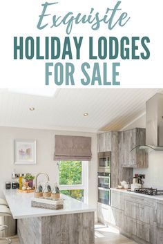 Luxury Holiday Lodges for Sale UK - Darwin Escapes Devon, Holiday Resort, Sale Uk, Luxury Holidays, Lodges, Retirement, Kitchen, Home Decor, Cabins