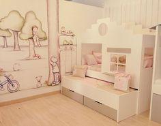 Camas de cuento para niños, Il mondo di Alex http://www.mamidecora.com/muebles-camas-infantiles-de-cuento.html