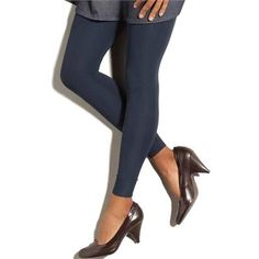 awesome Navy Blue Gradient Compression Maternity Leggings by Preggers
