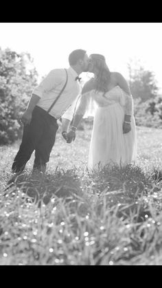 Grace loves lace Colette dress meadow kiss on wedding day