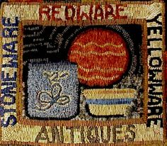 Traditional Rug Hooking Designs by Sally Van Nuys of Folk 'n' Fiber | Originals