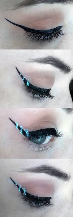 Helix liner how-to tutorial pictorial for this unique makeup trend!  http://www.costerobeauty.com/blog-costero/2016/9/9/helix-liner  Quick pictorial credit to: OilDerek on Reddit