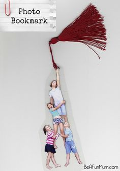 FUNNY Photo Bookmark. Great for Mother's Day