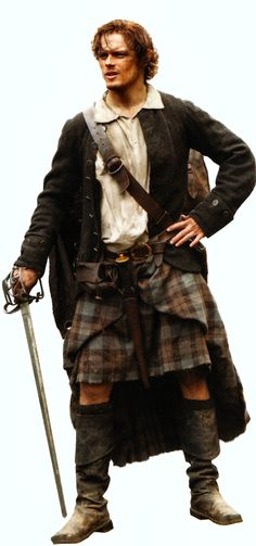 "James Alexander Malcom MacKenzie Fraser from the series ""Outlander"" coming the summer of 2014, and played by Sam Heughen"