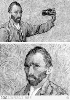 Never compare the profilepic princesses to Van Gogh.