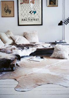 - mixing furs -