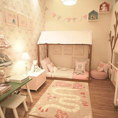 """73 """"Μου αρέσει!"""", 6 σχόλια - Dani Mataresi (@danimataresi) στο Instagram: """"A mini cama montessoriana é ideal para quando o bebê cresce e sai do berço. Ao mesmo tempo que dá…"""""""
