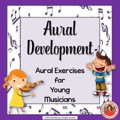 music lessons   |   music listening  |  Aural Development for Young Musicians This resource contains FOURTEEN aural discrimination (listening skill) worksheets.   #musiceducation   #musiced