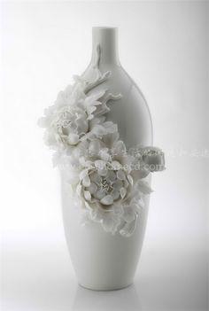 手工精雕白瓷