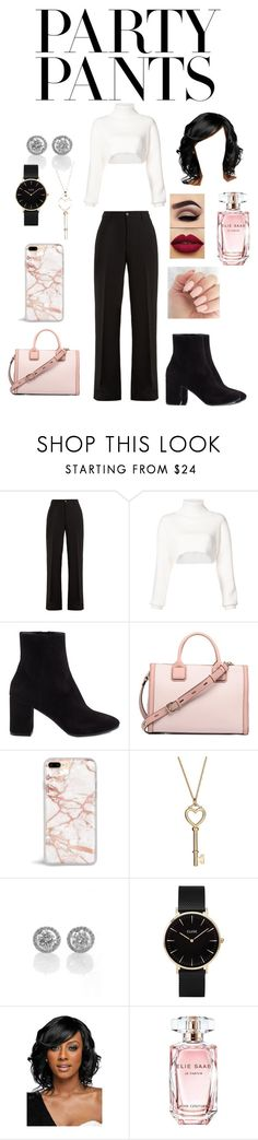 """""""#PolyPresents: Fancy Pants"""" by fashionistagirl989898 ❤ liked on Polyvore featuring Connolly, Alexandre Vauthier, Balenciaga, CLUSE, WithChic, Elie Saab, contestentry and polyPresents"""
