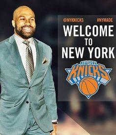 derek fisher apresentação novo técnico do NY Knicks (Foto: Reprodução/Instagram)