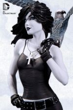 Death Is There for You as Exquisite Statue from Neil Gaiman's The Sandman Comics Toons, Dc Comics, Death Sandman, Vertigo Comics, Steampunk, Beautiful Dark Art, Gothic, Model Magazine, Warrior Girl