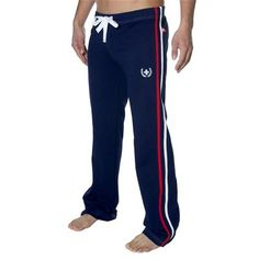 Laurel Track Pant by Andrew Christian in Navy