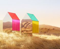 Instalação por Autumn de Wilde. + IndieDesign