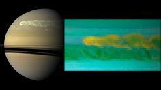 Cassini Sees Saturn Storm's Explosive Power