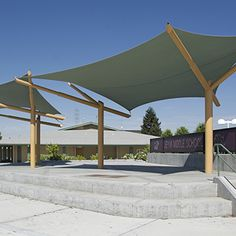 Tensile Shade Products, LLC is a producer of pre-engineered tensile sculpture products. Our line of tensile sculpture products include Sunbird, Sunbow, Sunami and Eclipse. Outdoor Shade, Patio Shade, Canopy Outdoor, Canopy Architecture, Concept Architecture, Architecture Design, Building A Pergola, Pergola Plans, Patio Sails