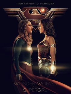 """""""From Krypton to Themyscira"""" Supergirl and Wonder Woman: Art by Misseane Wonder Woman Art, Gal Gadot Wonder Woman, Wonder Women, Supergirl Dc, Supergirl And Flash, Marvel Vs, Marvel Dc Comics, Super Heroine, Dc Characters"""