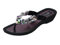 Grandco Ab Black Sandal Size 7 ** You can get more details by clicking on the image. (This is an affiliate link and I receive a commission for the sales)