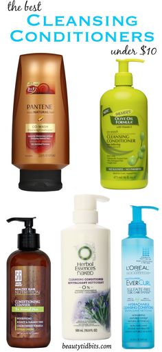 Best Cleansing conditioners under $10