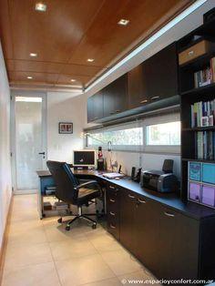 #HomeOffice #Casas #Proyecto Arq. Manuel González - Volúmenes articulados - Casas - Revista Espacio&Confort - Arquitectura y Decoración