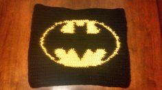 Butterfly's Creations: Superhero Afghan: Batman (Block 1), free pattern