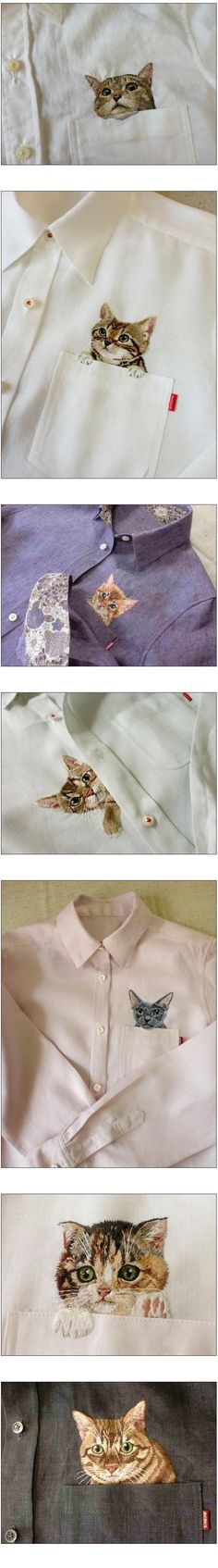 They are extremely cute!!! I don't really like cats but these clothes are so cute!