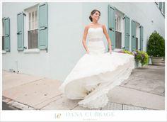Downtown Charleston Bridal Portraits // Dana Cubbage Weddings // Charleston SC Wedding Photographer // www.danacubbageweddings.com
