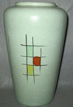 Mid Century Modern Vase Made In Germany