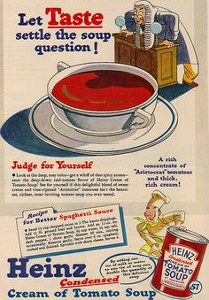 vintage food advertisements