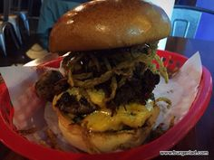 Almost Famous Christmas 2015 Burgers