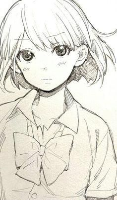 cute anime pencile sketch - Google Search