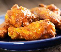 Honey-Habanero Chicken Wings | James Beard Foundation http://www.jamesbeard.org/recipes/honey-habanero-chicken-wings