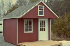 Ontario Lakeside Bunkie Shed. These are some generic Cabin Loft, Loft House, Shed To Tiny House, Tiny House Design, Small Cottages, Tiny Cabins, Prefab, Play Houses, Backyard