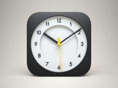 iOS Clock Icon designed by Celegorm. Web Design, Flat Design Icons, App Icon Design, Ui Design Inspiration, Graphic Design, Mobile App Icon, Ios App Icon, Icon Ui, Ui Design Tutorial