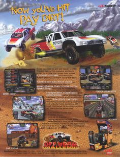 Off Road Challenge flyer/ad #ads #gaming