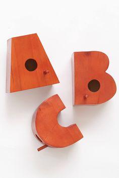 Typography Birdhouse