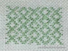 Developing a Spot Sampler: Filling Patterns – Needle'