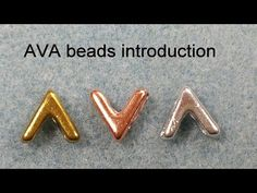 Beading4perfectionists : AVA bead introduction / Potomac designs / UK workshop - YouTube