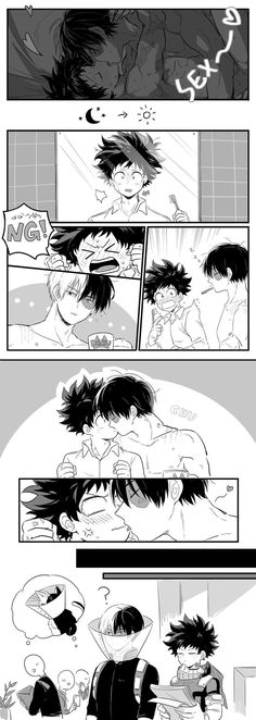 Deku was straight like a spaghetti until he got wet *smug face* that is how u can handle ur bf/gf!😂😂😂