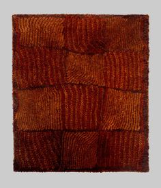 Tye dyed and woven raffia Kerchief.  Dida people of the Ivory Coast.  Early 20th century