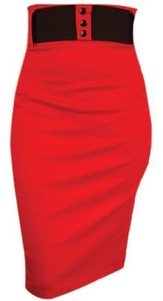 Switchblade Stiletto WAIST SKIRT- In Choice of Colors and Patterns