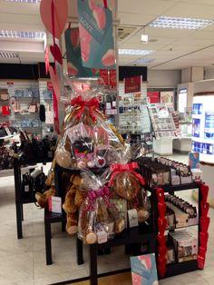 Valentines display Beales of Keighley @lovebeales