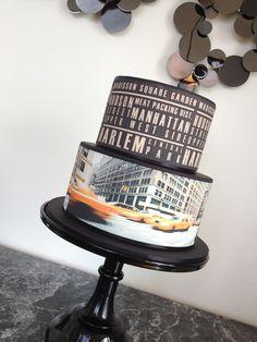 New York theme cake by Cake Envy Melbourne