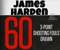 The greatness of James Harden. How he scores! 25 of his 35 points comes from 3 pointers or the foul line. Harden has been fouled 60 times from three the next best is 20 this season. from stepback threes. Harden's best defender is Andre Iguadola. Houston Rockets Basketball, James Harden, Nba News, Nba Players, Season 3, Scores, Pointers, Times, Stylus
