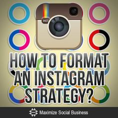 How to Format an Instagram Strategy #instagram #marketing #strategy