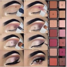 A step by step make-up & The post ABH Modern Renaissance Makeup Palette Eyeshadow Tutorial. A step by step make-up & appeared first on Trendy. Makeup Goals, Makeup Inspo, Makeup Inspiration, Makeup Geek, Makeup Addict, Skin Makeup, Beauty Makeup, Makeup Tips, Makeup Ideas