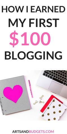 Looking for ways to make your first check from your blog? In this post, I share the top ways I earned my first paycheck from blogging! | Make money from blogging | Blogging first paycheck| How to make money from blogging | Ways to make extra money| Side hustles